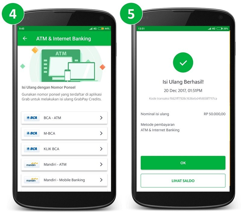 Isi Ulang Saldo Ovo Menggunakan Atm Internet Banking Passenger
