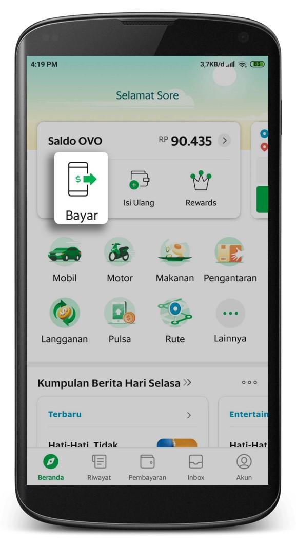 Bayar Di Merchant Ovo Dengan Aplikasi Grab Passenger